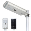 Smart Motion Sensor Outdoor Integrated Power Energy Solar All in One LED Street Lamp 25W
