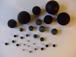 Hot Sell Black Rubber Ball