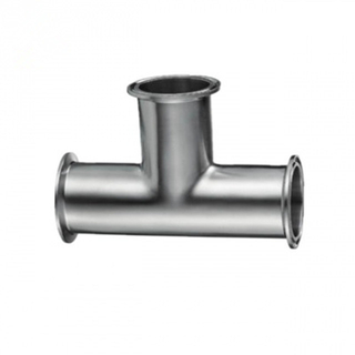 Sanitary Stainless Steel Tri-Clamp Polished Tees