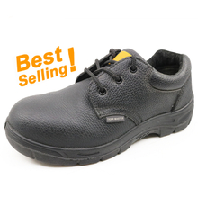 CL002 low ankle leather safety work shoes with steel toe cap