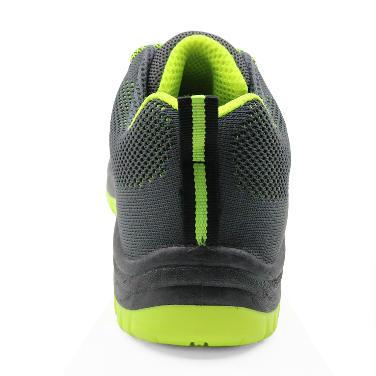 SP8081 Slip resistant steel toe cap workshop sport style safety shoes