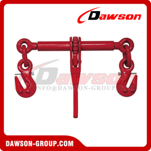 DS670 G80 Ratchet Binder With Safety Hooks to EN 12195-3, Grade 80 LoadBinder for Lashing