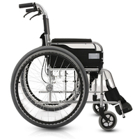 Adults Small Lightweight Manual Wheel Chair for Paraplegic