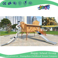 Outdoor Large Metal Stainless Steel Slide Playground Equipment (HHK-7502)