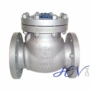 Low Pressure Water Carbon Steel Flanged Swing Check Valve
