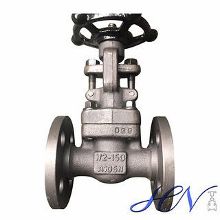 Flanged Industrial Forged Carbon Steel Water Handwheel Gate Valve
