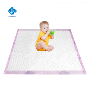 Large size All Absorb Soft Disposable Breathable Baby DiaperNappy changing pad bed protection mats