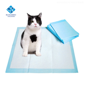Small Animal Pattern And Wood Material Puppy Training Pads For Puppies And Adult Dogs
