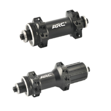 MT-037F/R Straight Pull Alloy Ratchet 36T Disc Brake Road Bicycle Hub 24H CNC Center Lock