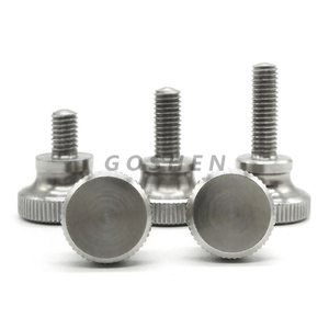 Stainless Steel 304 316 Knurled Thumb Screw Bolt Shoulder Bolt