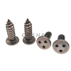 Stainless Steel 304 Plain Three Point Anti-theft Self Tapping Screw