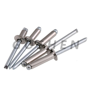 Stainless steel Open End Blind Rivets With Break Pull Mandrel And Countersunk Head--Property