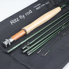 traveller 5907 9ft 5wt graphite travel fly rod