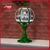 (LT30059W-GS11) Green Color Windmill House Decorative Tabletop Lamp with LED