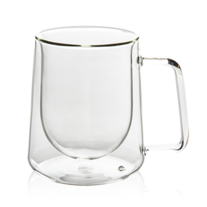 GD0504 Double Wall Heat Insulation Glass Mug