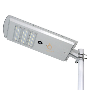 Smart Motion Sensor IP65 All in One 60W Solar LED Street Light with Solar Panel
