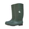 GBS green CE approved steel toe cap safety rain boots pvc