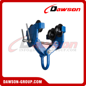 DS-GCT-LDK Type Push Trolley Clamp