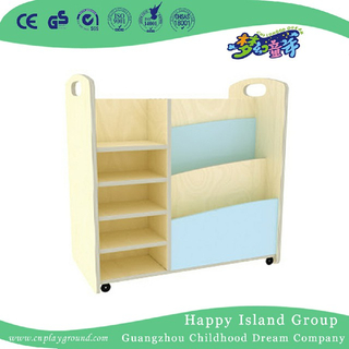 Kindergarten Multilayer Board Wood Art Cabinet (HJ-4410)