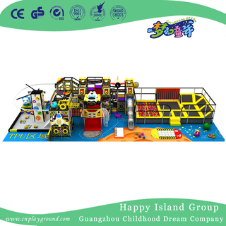 Half Open Outer Space Children Cartoon Indoor Playground (TQ-200406)