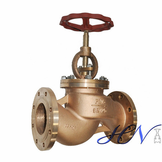 DIN Bronze Marine Flanged Manual Globe Valve