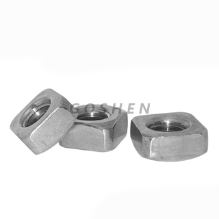 ANSI/ASME B 18.2.2 stainless steel 304 316 Square Nut