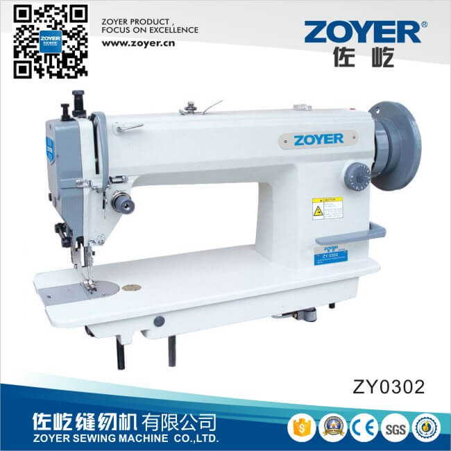 ZY0302 Zoyer Heavy Duty Big Hook Lockstitch Industrial Sewing Machine (ZY0302)