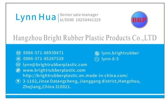Aging Resistant Rubber Part Bonded to Metal