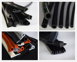Solid Rubber EPDM Extrusion Profile
