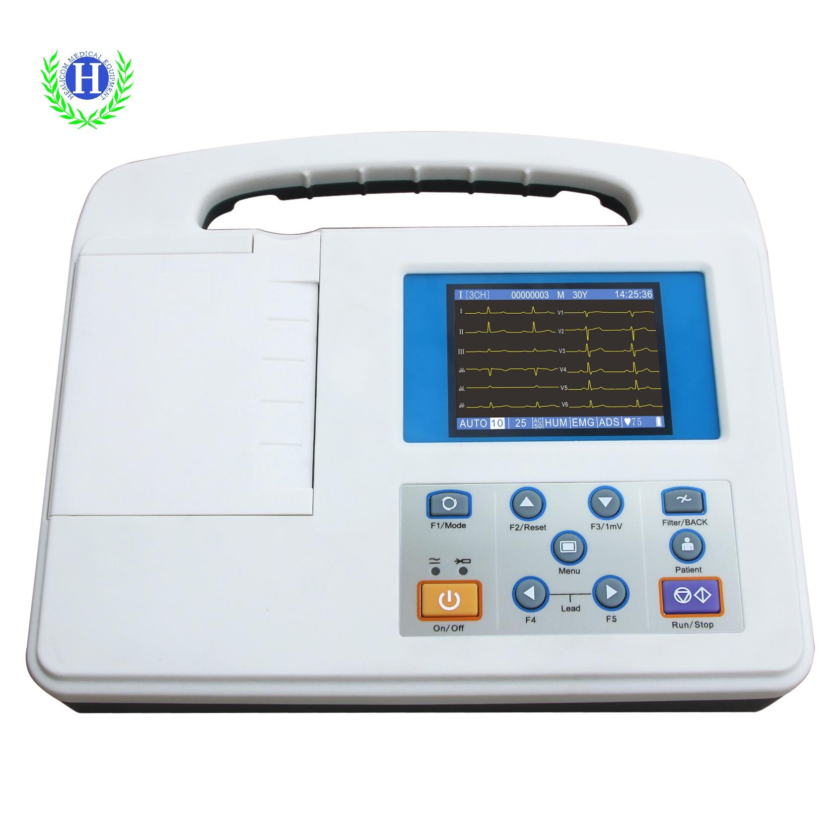 HE-01B Medical Equipment Digital Portable Handheld ECG ...