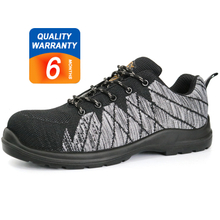 SU022 PU injection plastic toe cap kevlar insole sport safety shoes