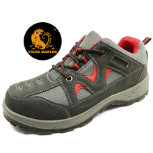 CE steel toe cap anti static honeywell style breathable safety shoes sport