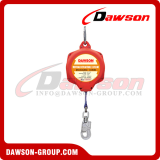 Nylon Vertical Retractable Lifeline, Webbing Self-Retracting Lifeline
