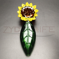 Manual Blowing Hookah Glass Smoking Pipe