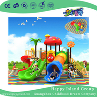 Outdoor Cartoon Various Slide Children Playground (BBE-B16)