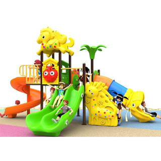 Eco Friendly Garden Plastic Slide Children Playground (BBE-N26)