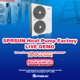 SPRSUN Launches Heat Pump Factory Live Demo in November 2019