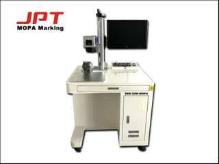 JPT MOPA Depth Color Plastic Laser Marking Machine for 304 Stainless Steel