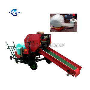 Rice Straw Corn Silage Grass Wrapper Round Roll Hay Baler Machine