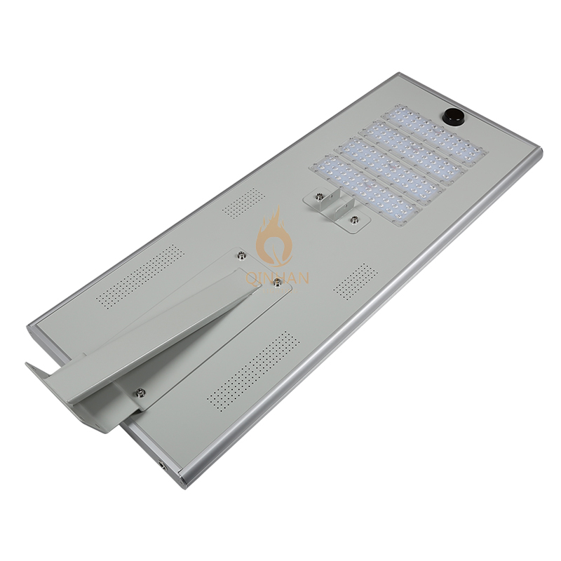 Waterproof IP65 SMD led solar panel all in one 60W street light with smart Motion Sensor