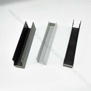 Plastic U Channel Strip Customized in High Quality for Sealing Use