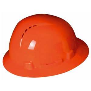 CE EN397 HDPE Full Brim Ventilation Holes Industrial Construction Safety Helmet Hard Hat