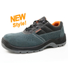 5070 Low ankle cheap suede leather breathable sport style work shoes safety