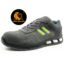 Oil slip resistant metal free composite toe cap airport safety shoes for work