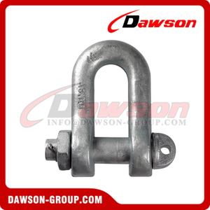 Galvanized Chain Shackle DIN 82101C