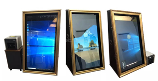 New arrival free standing photo mirror booth