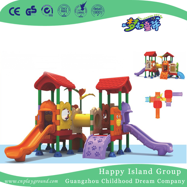 Backyard Toddler Play Plastic Small Slide Playground (ML ...