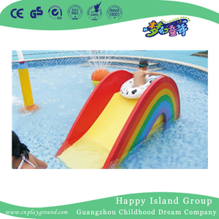 Water Park Beautiful Children Rainbow Slide Water Play Game (HHK-11004)