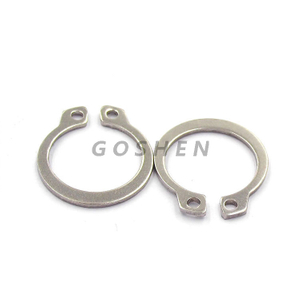 metric Din 471 stainless steel 304 316 Retaining Rings For Shafts