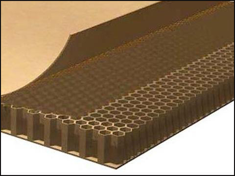 Honey Comb Board Cut By Cnc Cutting Machine Digital Oscillating